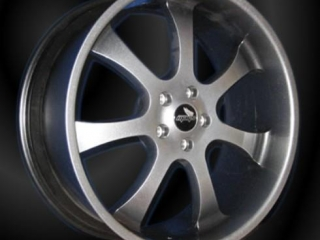 Forged alloy wheel, 7 spoke