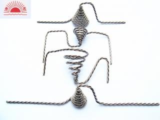 spiral tungsten coiled heater