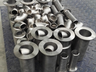 Titanium lap-joint stub end ASTM B363 Gr2