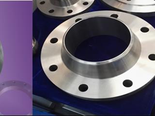 Titanium welding-neck flange EN 1092 Type 11
