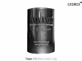 Šalto cinkavimo mišinys «GALVANOL», 2 kg