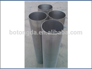 Johnson wedge wire water well screen filter pipe for sand control