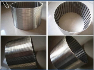 good quality stainless steel/welded wedge wire screen mesh filter pipe/panel/sheet