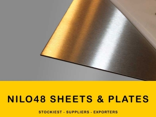 Nilo 48 Alloy Sheets & Plates | Manufacturer,Stockiest and Supplier