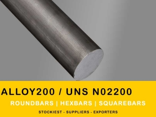 Nickel Alloy200 Round Bar | Stockiest and Supplier