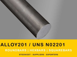 Nickel Alloy 201 Round Bar | Stockiest and Supplier