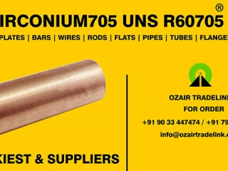 Zirconium705 Round Bars | Manufacturer,Stockiest and Supplier