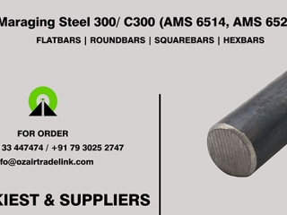 Maraging Steel 300-C300 AMS 6514, AMS 6521 | Stockiest and Supplier
