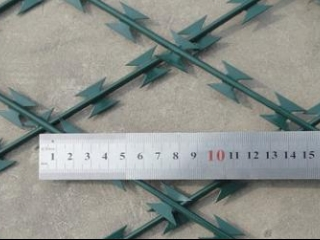 Hot Dipped Galvanized Razor Wire