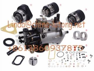 DPA Rotor Head 7123-340W / 7180-550W 4/9.5R For for Cabezal Perkin Fuel Engine