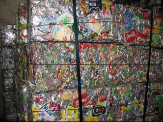 Aluminum UBC Beverage Can Scrap