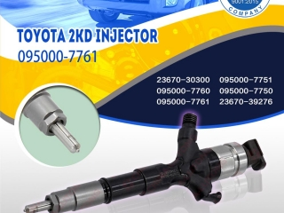 denso injectors 1kd-ftv 095000-6290 cummins 24 valve injectors