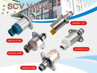 scv solenoid valve-isuzu 6hk1 suction control valve