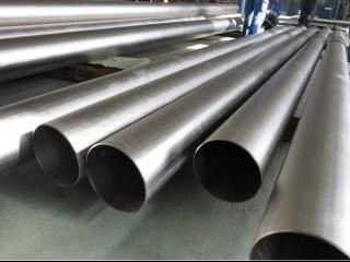 titanium tubes for industrial application